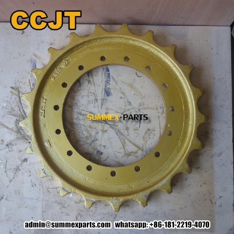 卡特312 E312挖掘机钩机驱动齿 CCJT矿山底盘件