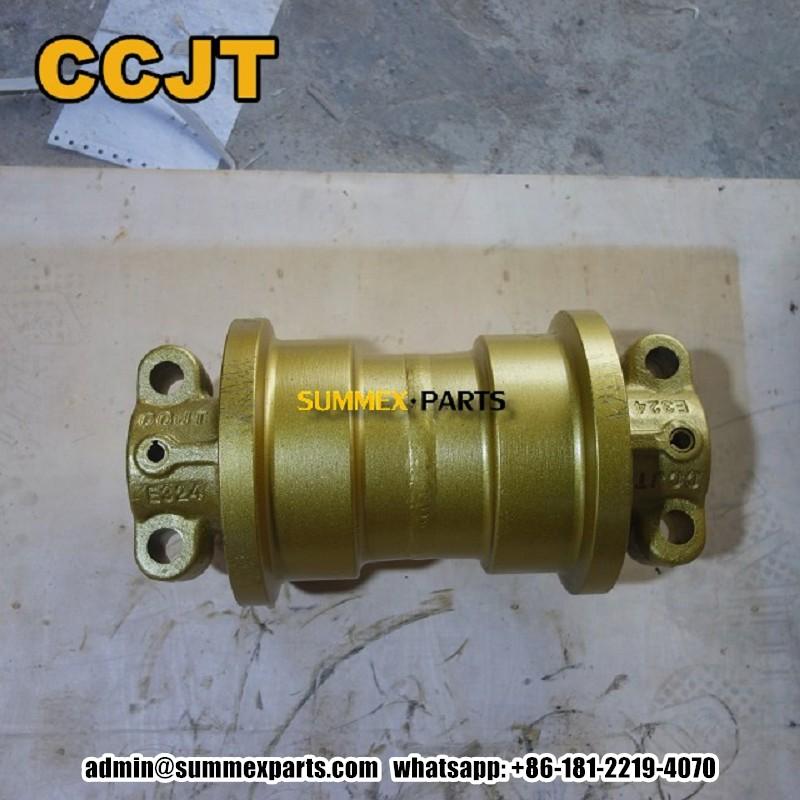 卡特324 E324挖掘机钩机支重轮 CCJT矿山底盘件